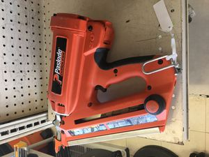 paslode framing nail gun (900420) 1 battery & charger for Sale in Austin, TX