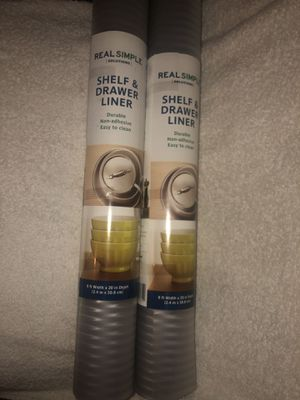 REAL SIMPLE Shelf & Drawer Liner New 2 Rolls for Sale in Upland, CA