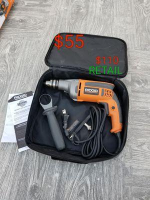ridgid hammer drill works excellent $110 retail for Sale in Littlerock, CA