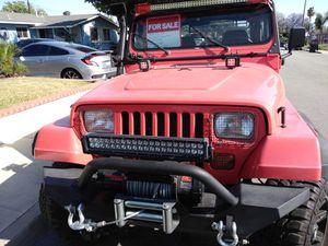 1995 YJ Jeep Wrangler Rio Grande 2.5 for Sale in Montclair, CA