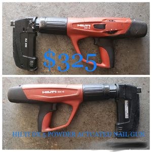 Hilti DX5 powder actuated nailgun for Sale in Barnegat Township, NJ