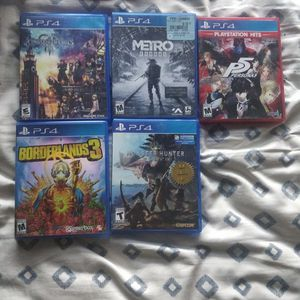Ps4 Games for Sale in Fullerton, CA