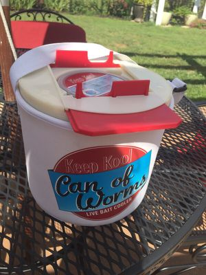 Fishing NEW! Keep Cool live BAIT COOLER worms etc. for Sale in Chantilly, VA