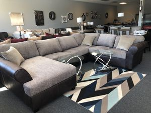 Sectional couch custom for Sale in Menifee, CA