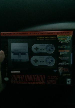 Super Nintendo classic edition for Sale in Smyrna, TN