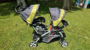 Double stroller carriola for Sale in Pasadena, TX
