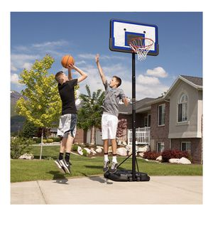 """New In Box Lifetime 44"""" Pro Court Height-Adjustable Portable Basketball Hoop HDLLC8711 for Sale in Austin, TX"""