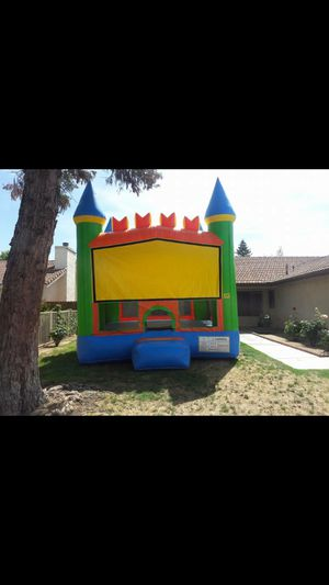 Big size Bounce house. Has basketball hoop inside. for Sale in Fresno, CA