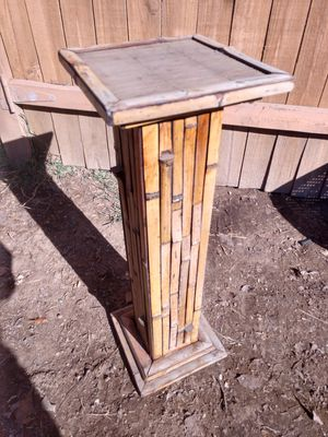 Bamboo plant stand for Sale in Phoenix, AZ