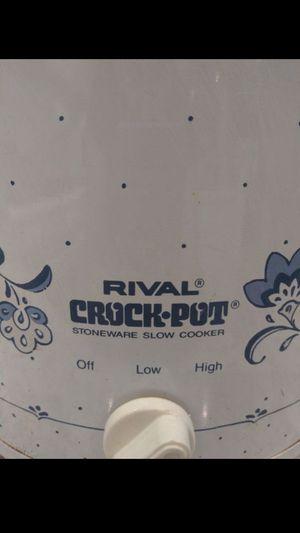 Rival crock pot asking $10 for Sale in Oakland Park, FL