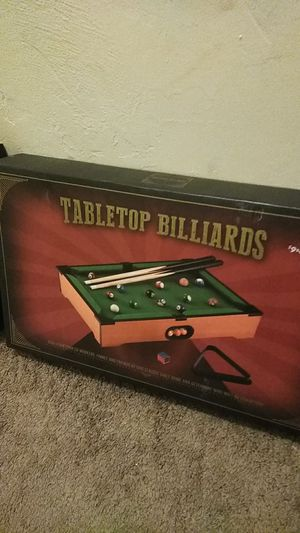 Tabletop air hockey and mini pool table for Sale in El Cajon, CA