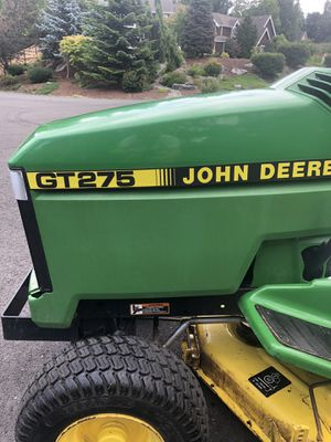 John Deere GT275 Tractor Mower for Sale in Buckley, WA