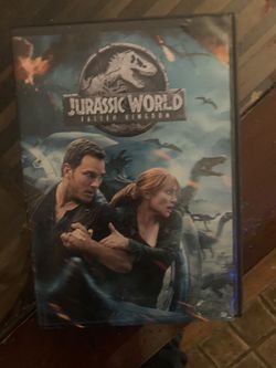 Jarassic park fall kingdom and a dvd vhs player for Sale in Los Angeles,  CA