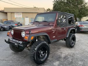 2001 Jeep Wrangler for Sale in Tampa, FL