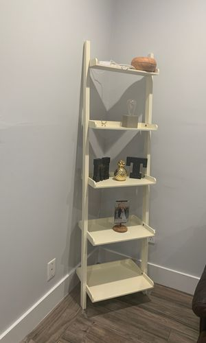 Cream shelf for any room (can paint to match your decor)MUST SELL for Sale in Miami, FL