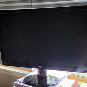 Acer 21.5 In. Lcd Monitor S220HQL for Sale in Secaucus, NJ