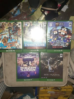 8 xbox one games for Sale in North Las Vegas, NV