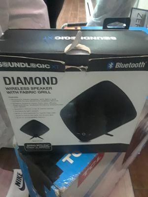 Sound Logic Diamond Bluetooth Speaker for Sale in San Francisco, CA
