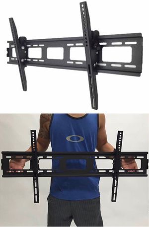 New in box 40 to 85 inches tilt tilting tv television wall mount bracket 150 lbs capacity soporte de tv for Sale in Los Angeles, CA
