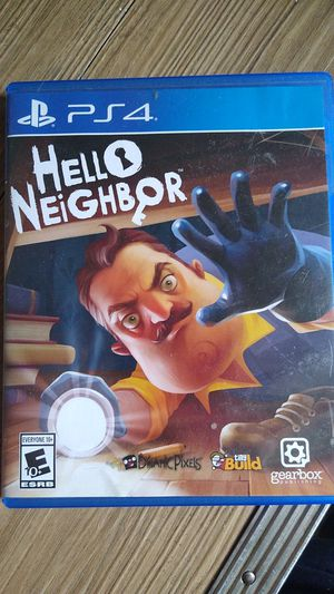 Ps4 hello neighbor for Sale in Houston, TX