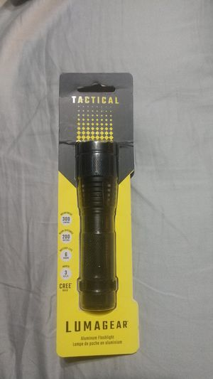 Lumagear tactical flashlight for Sale in Marion, IL