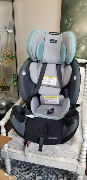 Evenflo EveryStage LX All-in-One Car Seat, Convertible Baby Seat BRAND NEW for Sale in Pflugerville, TX