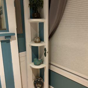 Shabby Chic Corner Shelf for Sale in Keizer, OR