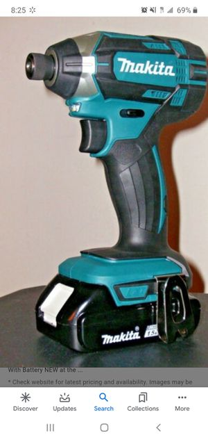 Makita impact with battery 45.00 for Sale in San Diego, CA