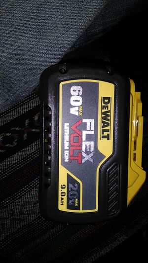 DeWalt 60v 9.0AH Flex Volt Battery for Sale in Kennewick, WA