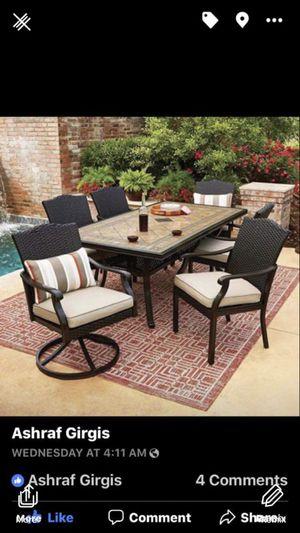 Member mark Agio 7 piece outdoor furniture for Sale in La Vergne, TN