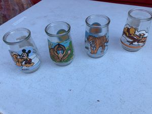 Welch's colllectible jelly jars/glasses 4 for Sale in Manassas, VA