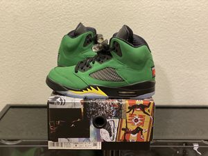 "Air Jordan 5 Retro SE ""Oregon"" / DS / Sz 9 for Sale in San Jose, CA"