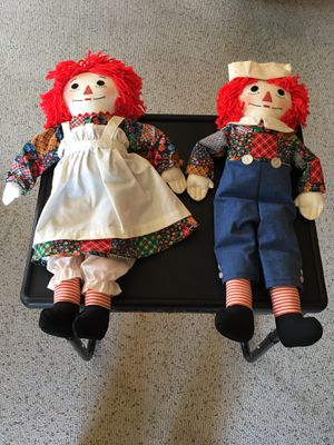 Raggedy Ann and Andy Dolls for Sale in San Mateo, CA