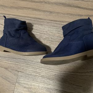 Old navy Toddler Girl Booties- Navy Blue 5C for Sale in Rowland Heights, CA