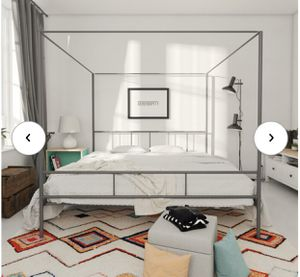 King bed frame for Sale in Minneapolis, MN
