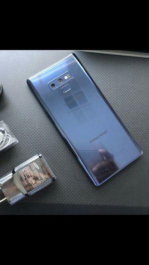 Samsung Galaxy note 9 - excellent condition, factory unlocked, clean IMEI for Sale in Springfield, VA