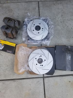 acura tsx/Rsx rotors and brake pads for Sale in Los Angeles, CA