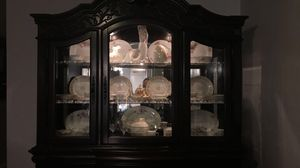 Lighted china cabinet for Sale in Paducah, KY