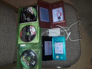 All 4 in a bundle Nintendo 3ds and XL & 2 xbox one games for Sale in Seattle, WA