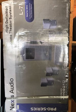 Nexis Audio High Definition Home Theater System for Sale in Silverado, CA