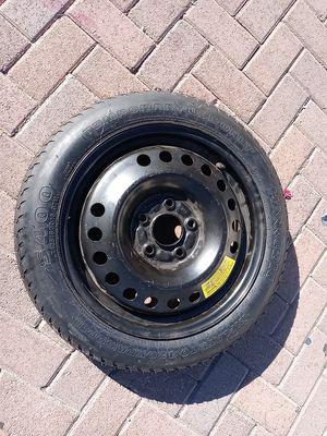 Branew spare donut tire T125/80/ 16 for Sale in San Bernardino, CA