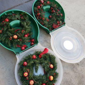 2 Wreath Box 2 Cajas De Coronas De Flores for Sale in Chula Vista, CA