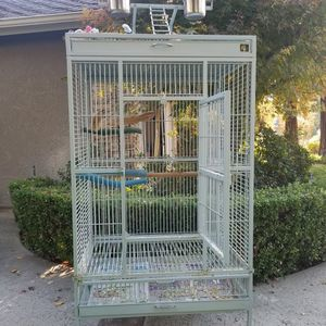 Large Metal Bird Cage for Sale in Fresno, CA