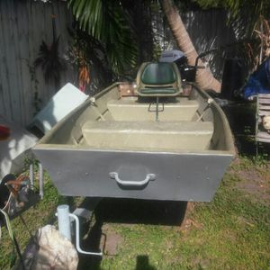 Boat 10ft aluminium for Sale in Miami, FL