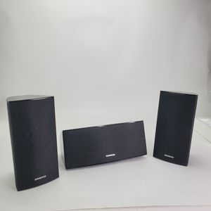 Onkyo Speakers (Set of 3) SKF-391 SKC-391 Surround Black Tested Works 6 Ohms Hablo Español for Sale in Raleigh, NC