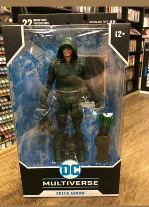 DC Multiverse Green Arrow Collectible Action Figure Toy for Sale in Chicago, IL