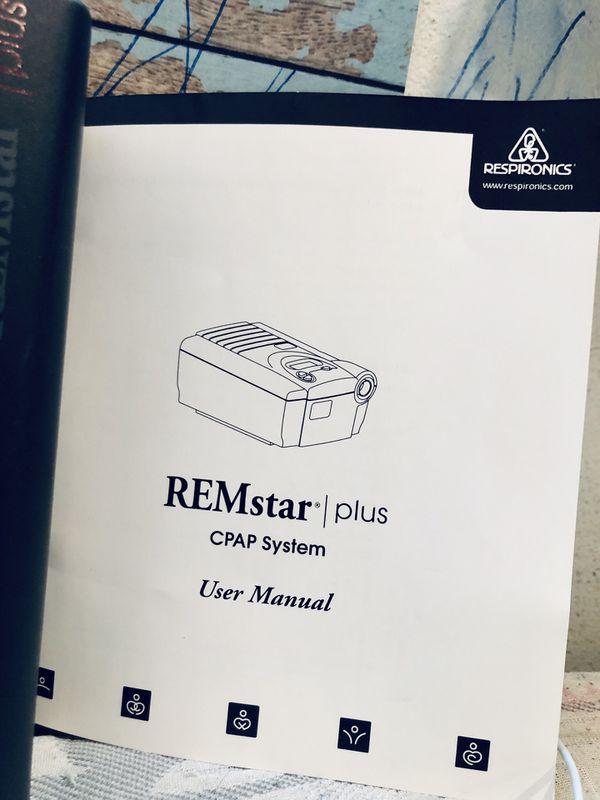 REMSTAR PLUS CPAP SLEEP AID MACHINE