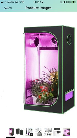 Grow Tent Reflective Garden Growing Room for Sale in Charlotte, NC