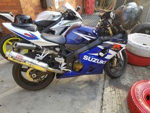 2004 Suzuki gsxr 600 motorcycle for Sale in Bronx, NY