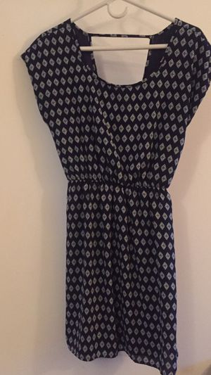 Women's career dress size medium navy for Sale in Tacoma, WA